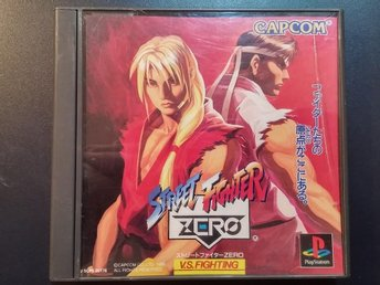 Street Fighter Zero (Street Fighter Alpha ) till Playstation - Japanskt