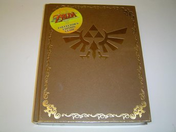 The Legend of Zelda Twilight Princess Collectors Ed Spelguide Guide Bok *NYTT*
