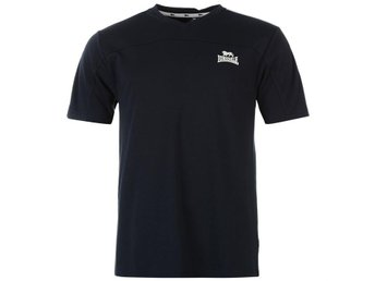 LONSDALE T-SHIRT SMALL LOGO NAVY    XL