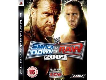 WWE Smackdown vs Raw 2009 - Playstation 3 - Varberg - WWE Smackdown vs Raw 2009 - Playstation 3 - Varberg