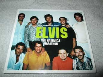 ELVIS PRESLEY - THE NASHVILLE MARATHON  FTD-UTGÅVA 2002, ROCKABILLY, COUNTRY