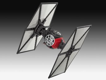 Star Wars Episode VII Build & Play Model Kit with Sound & Light Up Tie Fighter 1