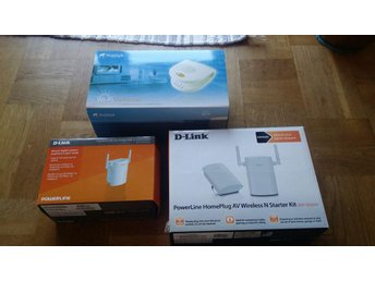 D-link WIFI wireless via elledningarna.
