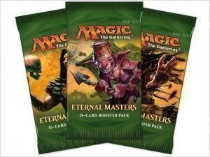 3st Magic the gathering, Eternal Masters Boosters.