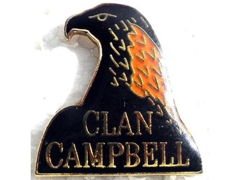 Pin - Whiskey - Clan Campbell