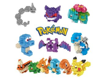 Pokemon Figurer - 3D Pussel