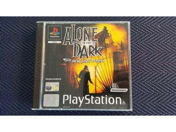 Alone in the Dark: The New Nightmare (komplett!) PS1