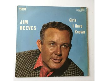 JIM REEVES - GIRLS I HAVE KNOWN. (LP)