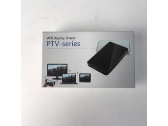 RoHS, Teknik, Wifi display sharer, PTV-series, Svart