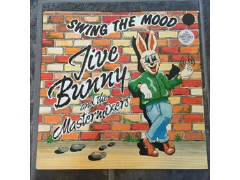 "JIVE BUNNY AND THE MASTERMIXES - SWING THE MOOD. (12"")"