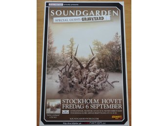 Poster Soundgarden Hovet