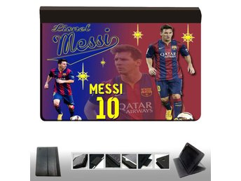 iPad 2,3,4 fodral med Messi star Barcelona design