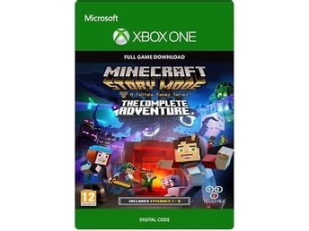 Minecraft story mode complete adventure - digital xBox one