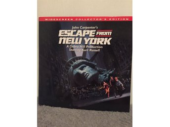 Escape from New York  US LASERDISC widescreen Carpenter Russel