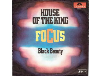 FOCUS - HOUSE OF THE KING (RARE) 7""