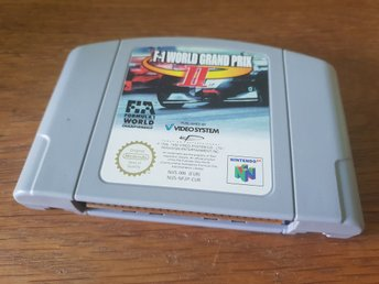 F-1 WORLD GRAND PRIX II N64 BEG