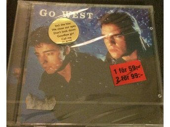 Go West 1996 Disky We close our eyes Ny Inplastad