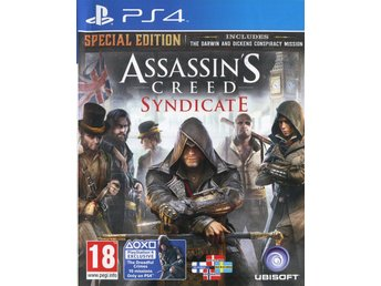 "PS4-spel ""Assassins Creed: Syndicate"""