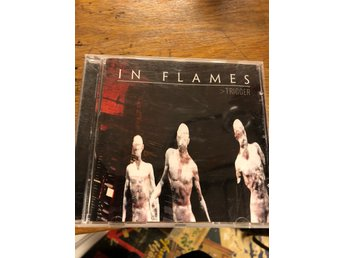 "In Flames ""Trigger"" cd death metal"