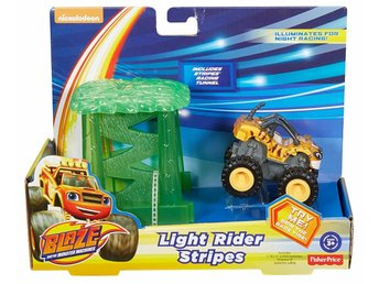 Blaze och Monstermaskinerna  Light Rider Rider Stripes