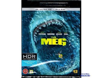 THE MEG 4K ULTRA HD + BLU-RAY - NY INPLASTAD