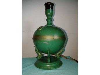 Bordslampa Art Deco fungerar. (367030876) ᐈ Köp på Tradera