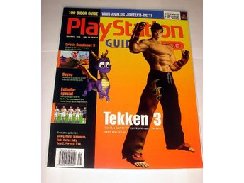 PLAYSTATION GUIDE  HELT NY  1/1999 TEKKEN 3  mm.  !!!