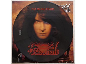 "OZZY OSBOURNE 'No More Tears' UK 12"" picture-disc"