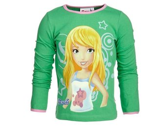 LEGO WEAR T-SHIRT FRIENDS 'STEPHANIE', GRÖN (110)