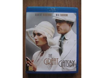 The Great Gatsby (Blu ray, drama, Redford, Farrow)