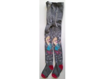 Original Disney Frozen/Frost Elsa Strumpbyxor/tights stl Grå 116/122