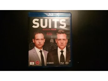Suits - Säsong 4 Blu-ray