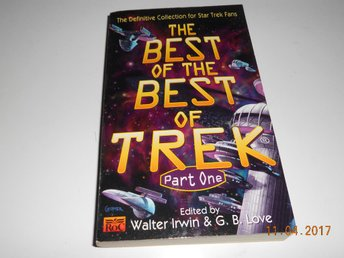 STAR TREK The Best of the best of Trek Part One, pocket USA