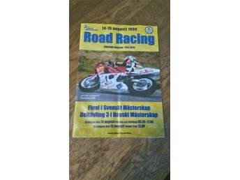 Road Racing 14-15 aug. 1999 program