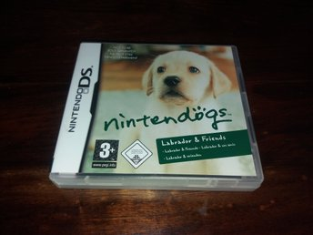 Nintendogs Labrador & Friends, DS, Komplett, Fint Skick!
