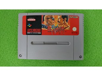 Final Fight SCN Super Nintendo Snes