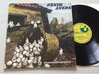 Lp Kevin Ayers-whatevershebringswesing very rare uk org på Harvest