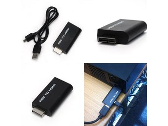 PS2 till HDMI adapter - Plug and Play Video-konvertering