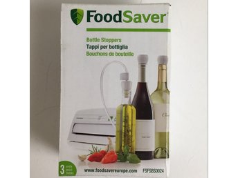 Foodsaver, Flaskpropp, Vit