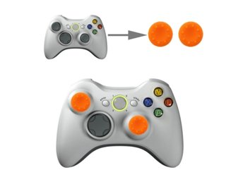 Tumgrepp Silikon Skydd Xbox & PS4 Orange