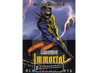 IMMORTAL THE (komplett) till Sega Mega Drive