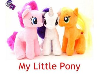 3st NY My Little Pony Horse 18cm Figures Plush Soft Toy DEF