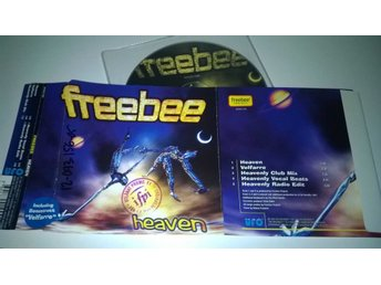 Freebee - Heaven, single CD, promo