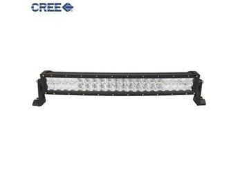 "120w 5D CREE LED Extraljus Arbetsbelysning / Ljusramp 22"" (56cm) lätt böjd - Kode - 120w 5D CREE LED Extraljus Arbetsbelysning / Ljusramp 22"" (56cm) lätt böjd - Kode"