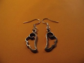 Moln örhängen / Cloud earrings