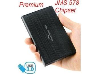 "Premium USB 3.0 2.5 tum extern kabinett för SATA 6Gb/s hårddisk 2,5"" SSD - Stockholm - Premium USB 3.0 2.5 tum extern kabinett för SATA 6Gb/s hårddisk 2,5"" SSD - Stockholm"