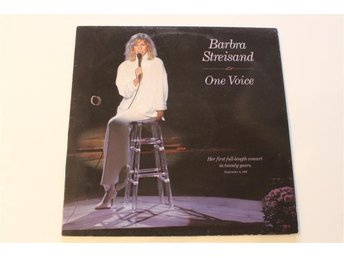 LP-skiva - Barbra Streisand - One voice