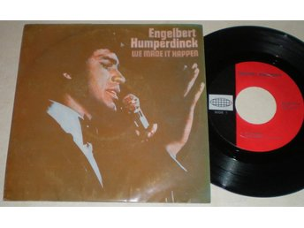 Engelbert Humperdinck EP/PS We made it happen 1970 VG++