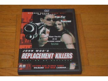 The Replacement Killers ( Chow Yun-Fat Mina Sorvino ) 1997 - DVD