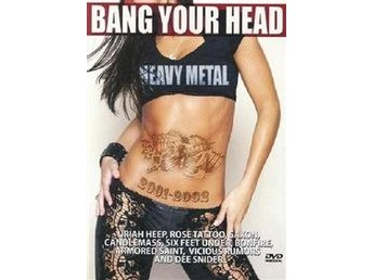 Bang your head 2001-02 (DVD)